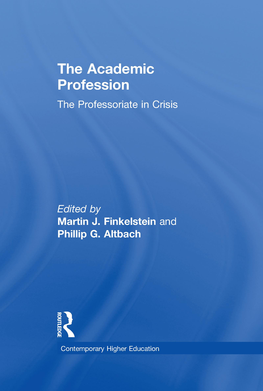 The Academic Profession: The Professoriate in Crisis book cover