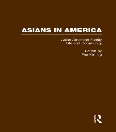 Asian American Family Life and Community book cover