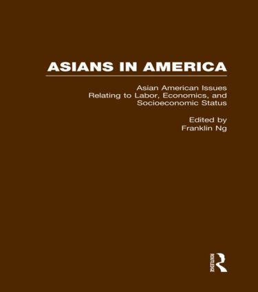 Asian American Issues Relating to Labor, Economics, and Socioeconomic Status (Hardback) book cover