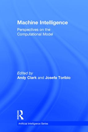 Machine Intelligence: Perspectives on the Computational Model, 1st Edition (Hardback) book cover