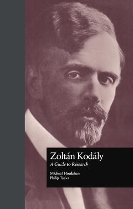 Zoltan Kodaly: A Guide to Research book cover
