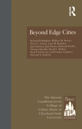 Beyond Edge Cities: 1st Edition (Hardback) book cover