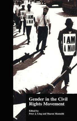 Gender in the Civil Rights Movement (Hardback) book cover