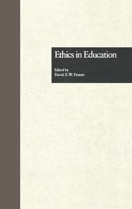 Ethics in Education book cover