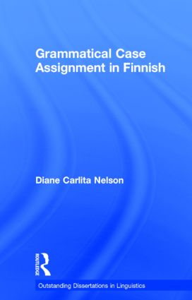 Grammatical Case Assignment in Finnish: 1st Edition (Paperback) book cover
