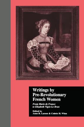 Louise d'Epinay Lettre a Galiani (14 mars 1772) Les Conversations d 'Emilie (1773)
