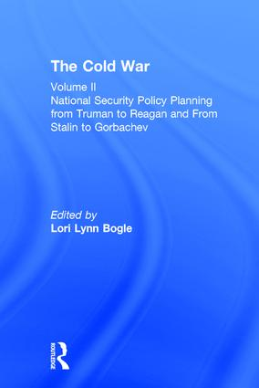 National Security Policy Planning from Truman to Reagan and From Stalin to Gorbachev: The Cold War, 1st Edition (Hardback) book cover