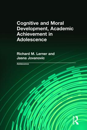 Cognitive and Moral Development, Academic Achievement in Adolescence (Hardback) book cover