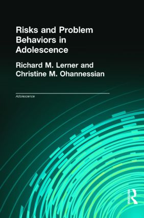 Risks and Problem Behaviors in Adolescence (Hardback) book cover