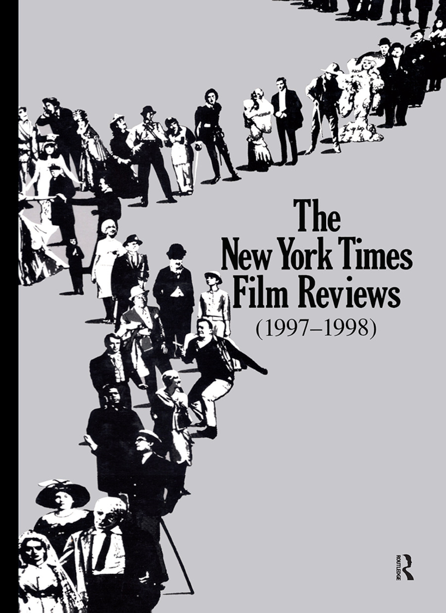 The New York Times Film Reviews 1997-1998: 1st Edition (Hardback) book cover