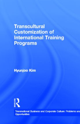 Transcultural Customization of International Training Programs: 1st Edition (Paperback) book cover