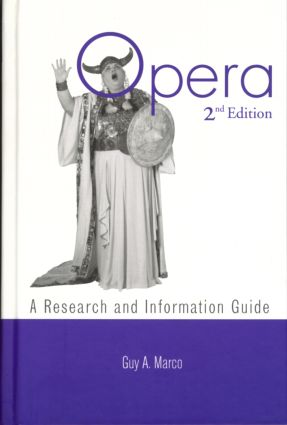 Opera: A Research and Information Guide book cover