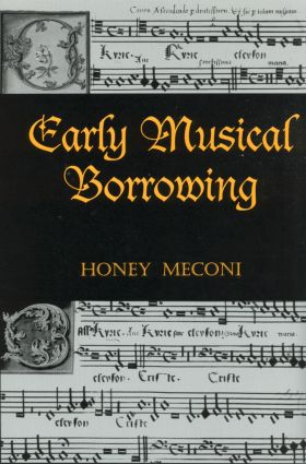 Early Musical Borrowing (Hardback) book cover