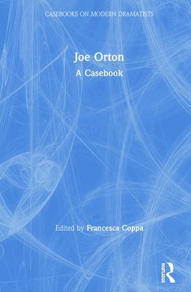 Joe Orton: A Casebook book cover