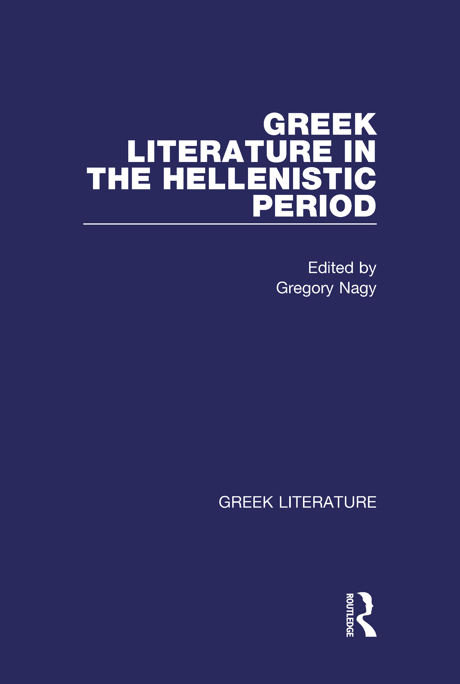 Greek Literature in the Hellenistic Period
