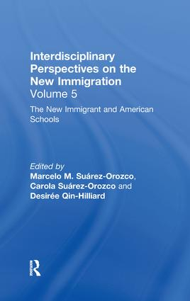 The New Immigrants and American Schools: Interdisciplinary Perspectives on the New Immigration, 1st Edition (Hardback) book cover