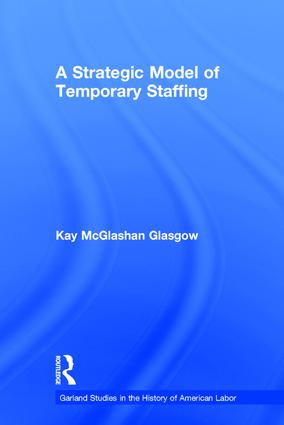 A Strategic Model of Temporary Staffing book cover