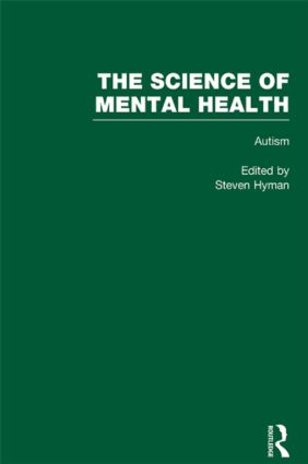 Autism: The Science of Mental Health, 1st Edition (Hardback) book cover