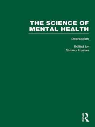 Depression: The Science of Mental Health (e-Book) book cover