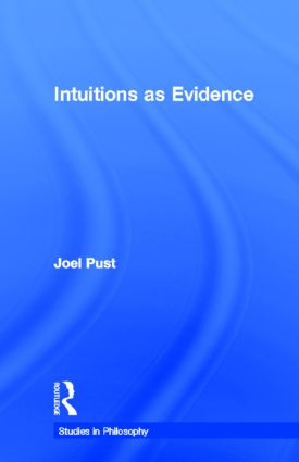 Intuitions as Evidence (Hardback) book cover