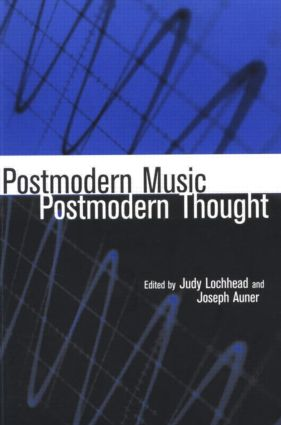 Postmodern Music/Postmodern Thought (Paperback) book cover
