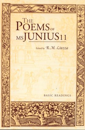 The Poems of MS Junius 11: Basic Readings book cover