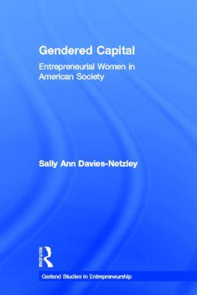 Gendered Capital: Entrepreneurial Women in American Enterprise book cover