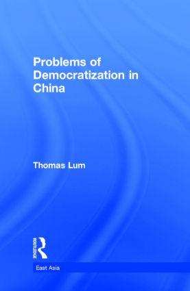 Problems of Democratization in China book cover