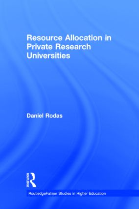 Resource Allocation in Private Research Universities book cover