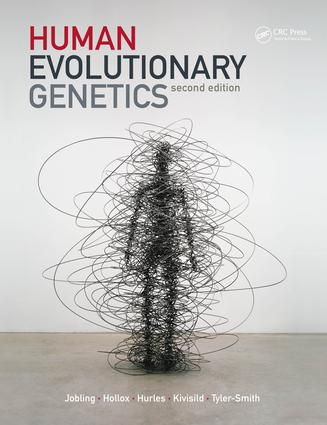 Human Evolutionary Genetics: 2nd Edition (Paperback) book cover