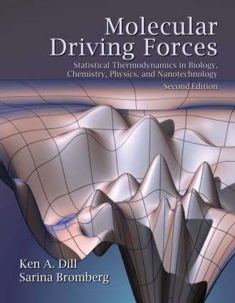 Molecular Driving Forces: Statistical Thermodynamics in Biology, Chemistry, Physics, and Nanoscience, 2nd Edition (Paperback) book cover