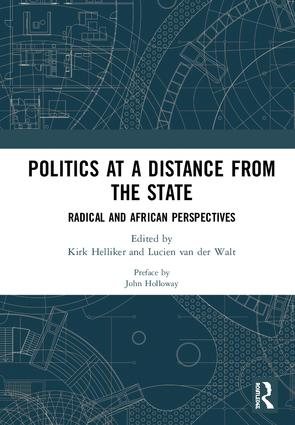 Politics at a Distance from the State: Radical and African Perspectives, 1st Edition (Hardback) book cover