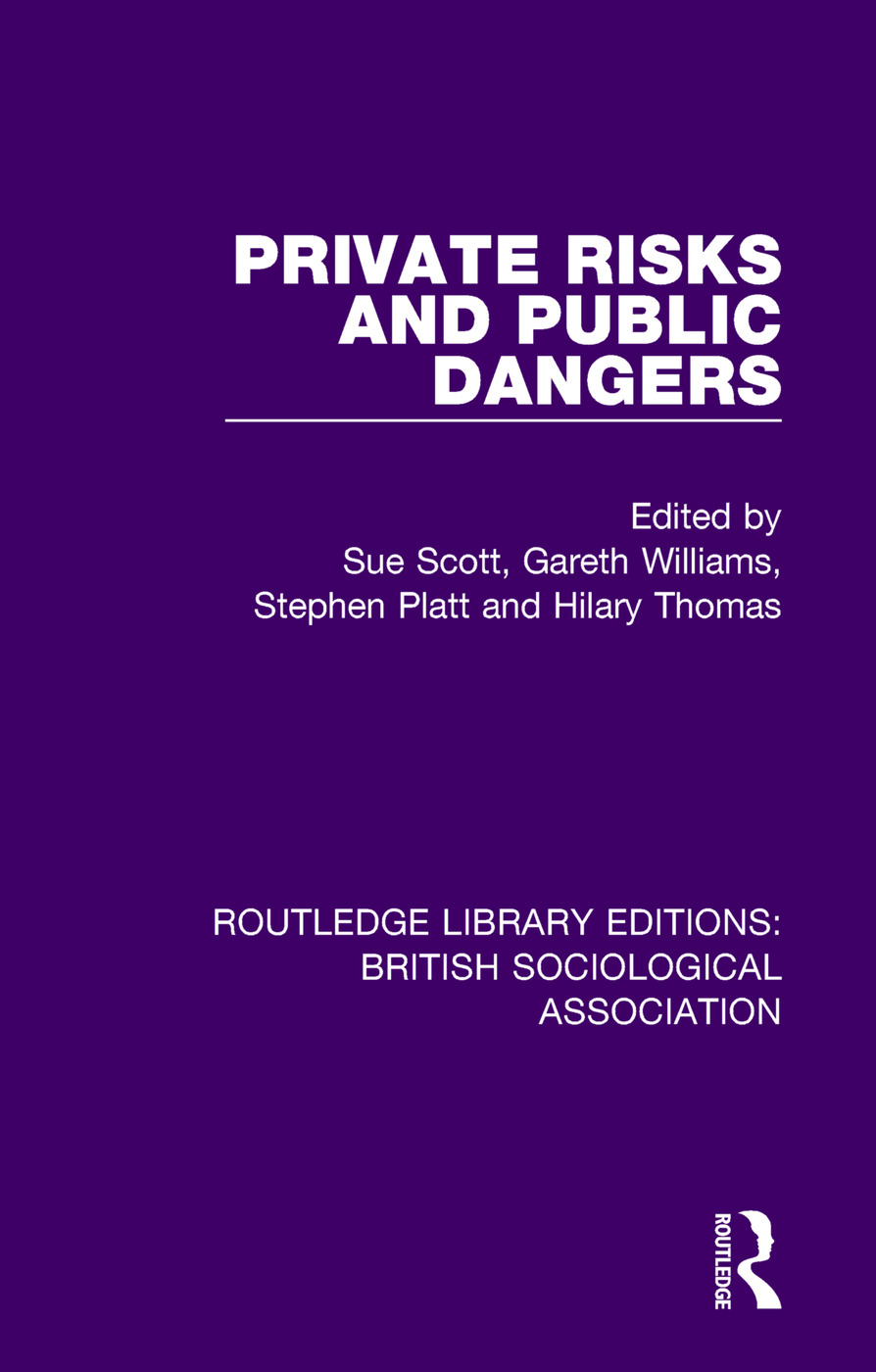 Private Risks and Public Dangers book cover