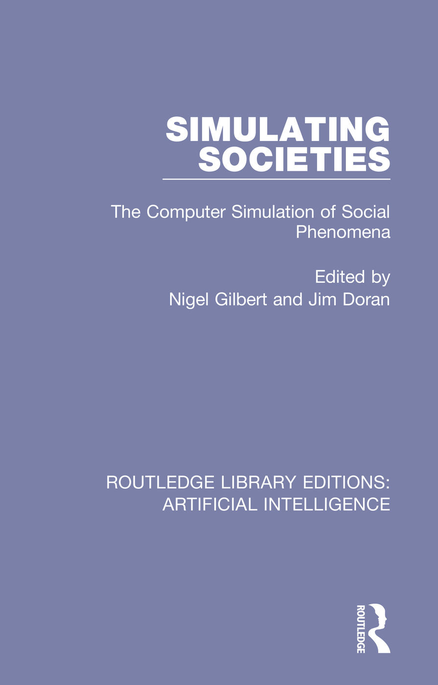 Simulating Societies: The Computer Simulation of Social Phenomena, 1st Edition (Paperback) book cover