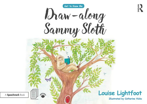 Draw Along With Sammy Sloth: Get to Know Me: Anxiety book cover