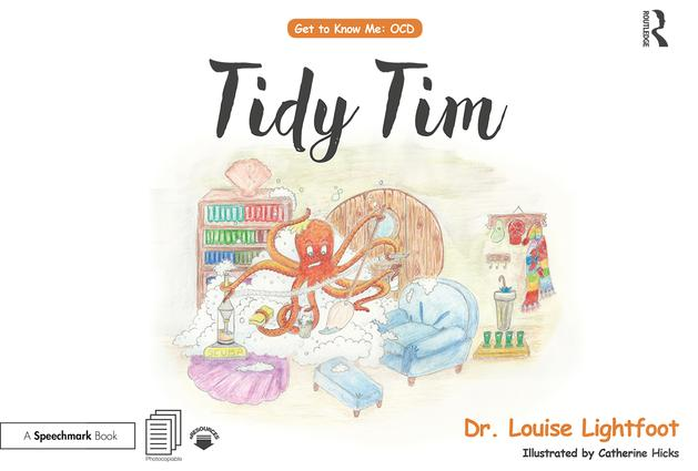 Tidy Tim: Get to Know Me: OCD, 1st Edition (Paperback) book cover
