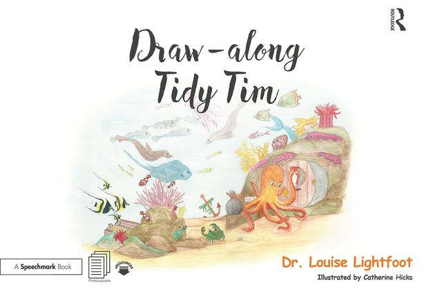 Draw Along With Tidy Tim: Get to Know me: OCD book cover