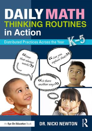 Daily Math Thinking Routines in Action: Distributed Practices Across the Year book cover