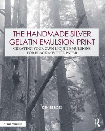 The Handmade Silver Gelatin Emulsion Print: Creating Your Own Liquid Emulsions for Black & White Paper, 1st Edition (Paperback) book cover