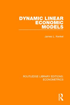 Dynamic Linear Economic Models book cover