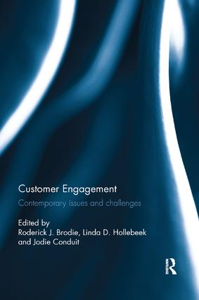 Customer Engagement: Contemporary issues and challenges, 1st Edition (Paperback) book cover