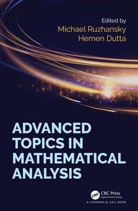 Advanced Topics in Mathematical Analysis: 1st Edition (Hardback) book cover
