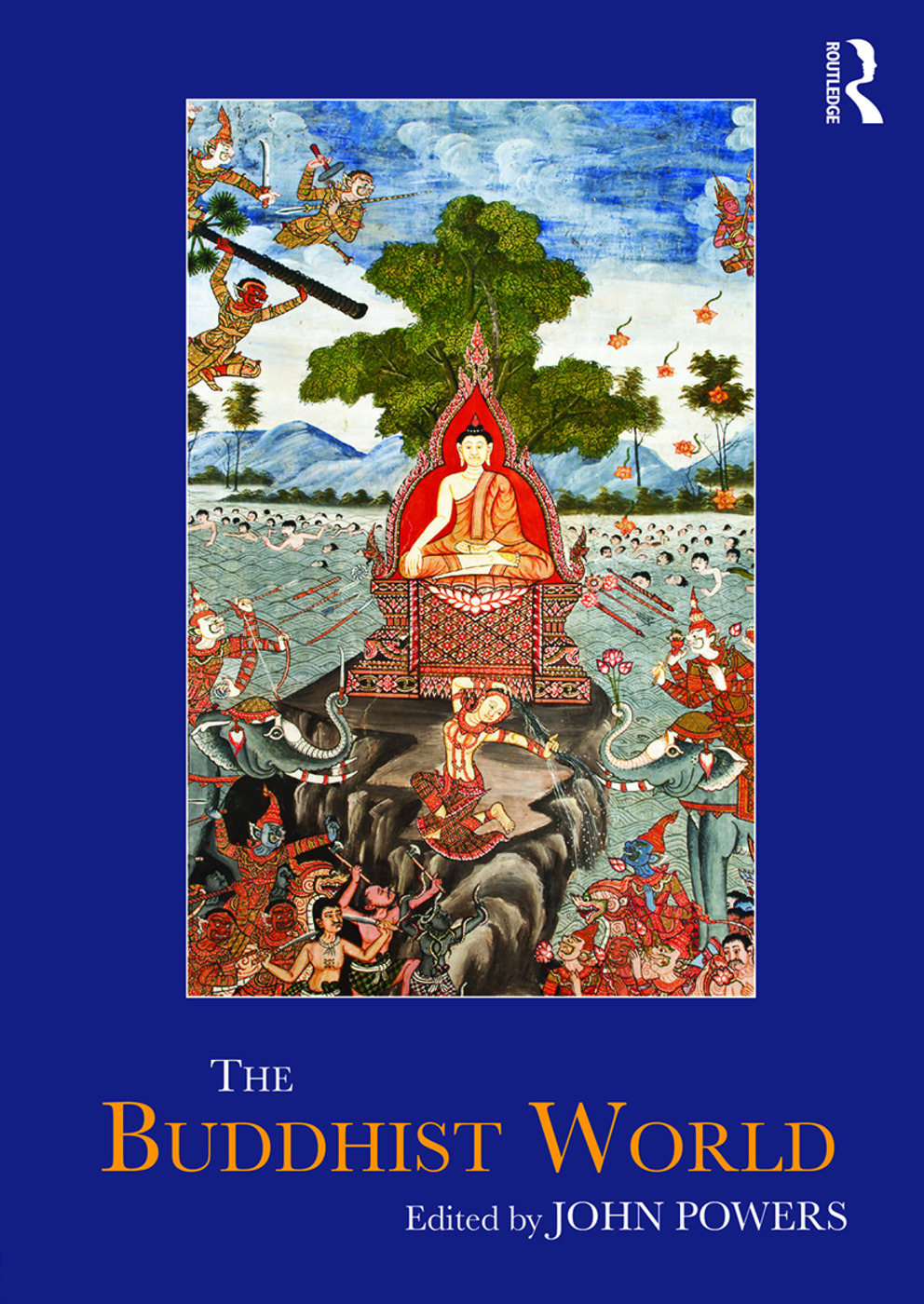 The Buddhist World: 1st Edition (Paperback) book cover