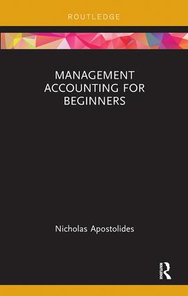 Management Accounting for Beginners book cover