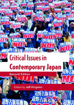 Critical Issues in Contemporary Japan book cover