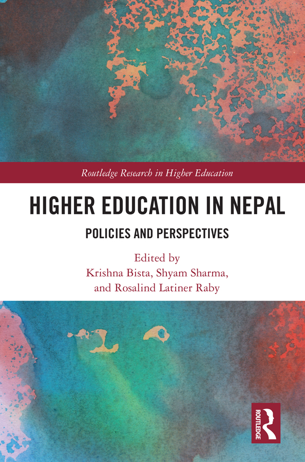 Higher Education in Nepal: Policies and Perspectives, 1st Edition (Hardback) book cover
