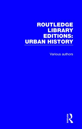 Routledge Library Editions: Urban History book cover