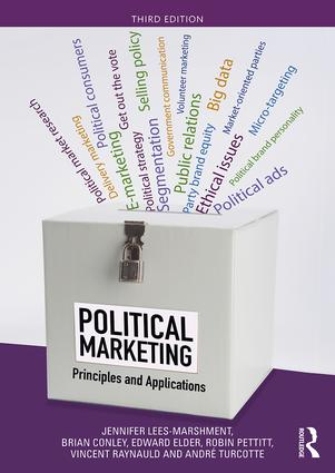 Political Marketing: Principles and Applications book cover