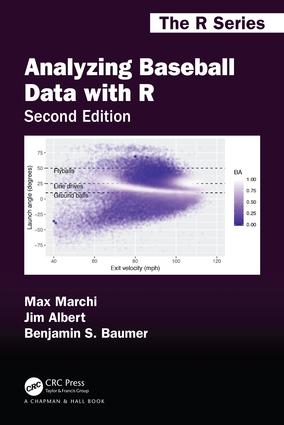 Analyzing Baseball Data with R, Second Edition book cover