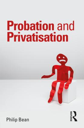 Probation and Privatisation book cover
